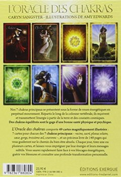 Livres Couvertures de L'oracle des chakras : Cartes oracle