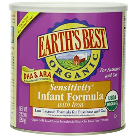 Earth's Best Organic Infant Formulas with DHA & ARA are made with high quality protein, carbohydrates, vitamins, minerals and essential fatty acids including Omega-3 DHA and Omega-6 ARA fatty acids— special nutrients found in breast milk clinically s...