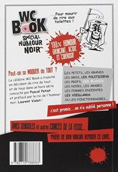 Livres Couvertures de Wc Book spécial humour noir