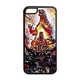 customized Godzilla for Iphone 5C case 5C-brandy-140170