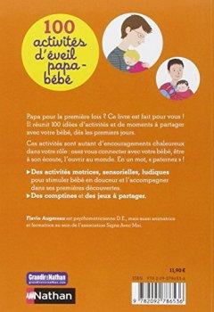 Livres Couvertures de 100 activités d'éveil papa-bébé