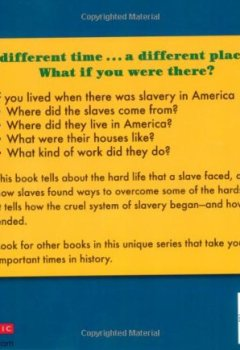 Livres Couvertures de If You Lived When There Was Slavery In America