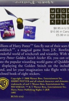 Livres Couvertures de Harry Potter Golden Snitch (ANGLAIS)
