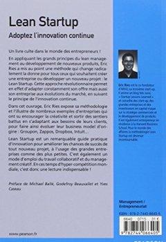 Livres Couvertures de Lean Startup : Adoptez l'innovation continue