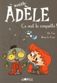 Livres Couvertures de Mortelle Adèle T.11 - Ça sent la croquette
