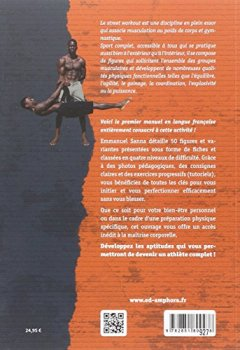 Livres Couvertures de Street Workout - l'Art de la Maitrise Corporelle - Fondamentaux, Figures...