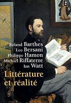 Livres Couvertures de Littérature et réalité