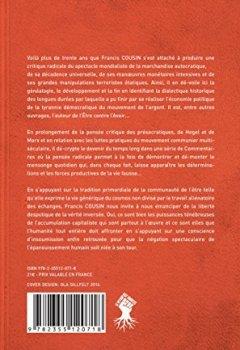 Livres Couvertures de Commentaires sur l'extrême radicalité des temps derniers : critique de la dictature démocratique du spectacle de la marchandise terminale...