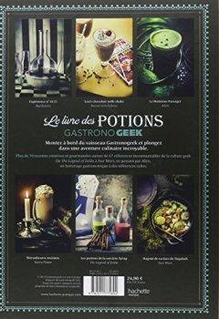 Livres Couvertures de Le livre des potions par Gastronogeek