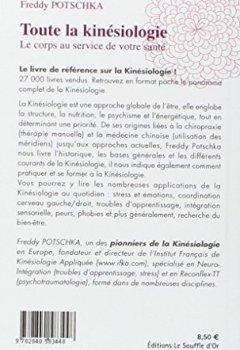 Livres Couvertures de Toute la kinésiologie : Le corps au service de votre santé