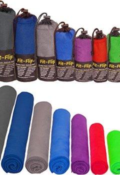 Livres Couvertures de Serviette microfibre dans TOUTES les tailles / 12 coloris - Petite, légère et ultra-absorbante - Serviette sport, Serviette de plage, Serviette piscine, Serviette fitness, Microfiber serviette de bain
