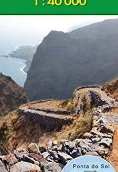 Livres Couvertures de Cabo Verde: Santo Antao 1:40000 (Carte de randonnée et de loisirs du Cap-Vert)