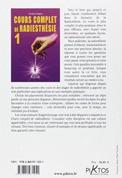 Livres Couvertures de Cours complet de radiesthésie