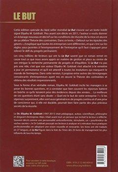 Livres Couvertures de Le but : Un processus de progrès permanent