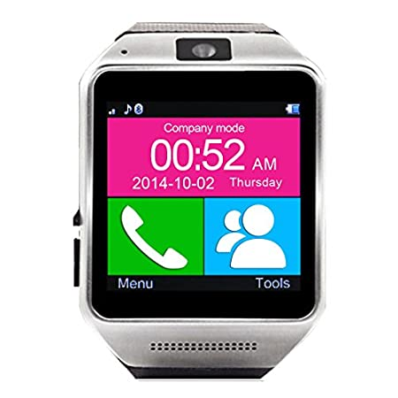 gear guide: http://files.otiumobile.com/docs/otium_gear_user_guide.pdf Gear apk: http://files.otiumobile.com/apps/btnotification_k6.apk This watch can also work with iPhone as a Bluetooth device(Means you can receive a call or make a call also syn...