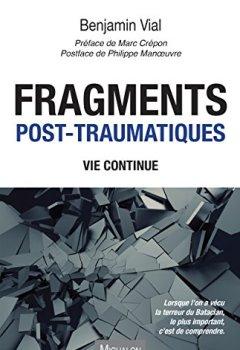 Livres Couvertures de Fragments post-traumatiques