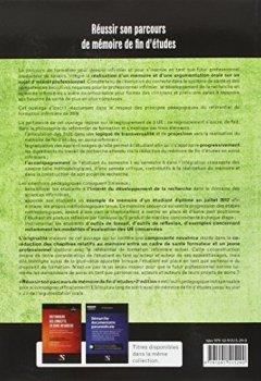 Livres Couvertures de Réussir son parcours de mémoire de fin d'études - 2e édition - UE 6.1 S1 | UE 3.4 S4 et S6 | UE 5.6 S6