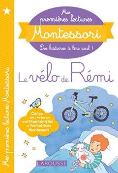 Livres Couvertures de Mes premières lectures Montessori, Le vélo de rémi