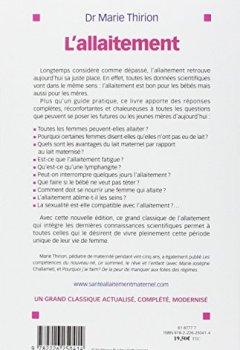 Livres Couvertures de L'allaitement - nouvelle édition 2014