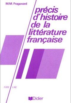 Livres Couvertures de Précis d'histoire de la littérature française
