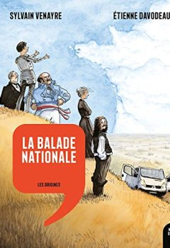 Livres Couvertures de La Balade nationale - Les Origines