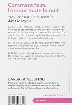 Livres Couvertures de Comment faire l'amour toute la nuit : Trouver l'harmonie sexuelle dans le couple