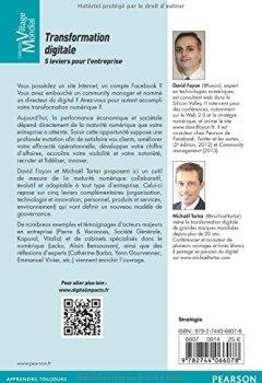 Livres Couvertures de Transformation digitale: 5 leviers pour l'entreprise
