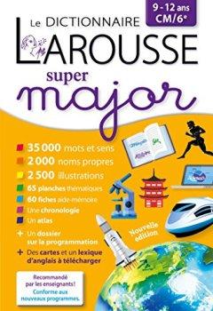 Livres Couvertures de Larousse dictionnaire Super major 9/12 ans