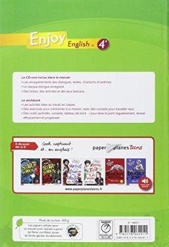 Livres Couvertures de Enjoy English in 4e (1CD audio)