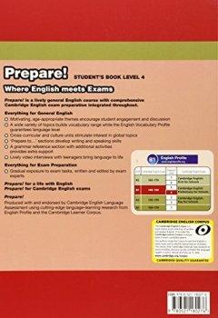 Livres Couvertures de Cambridge English Prepare! Level 4 Student's Book