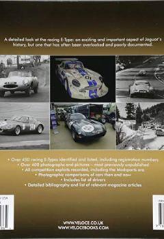 Livres Couvertures de Jaguar E-Type Factory and Private Competition Cars