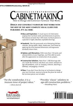Livres Couvertures de Illustrated Cabinetmaking: How to Design and Construct Furniture That Works-
