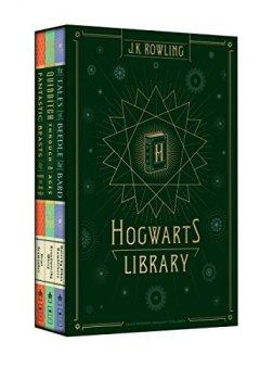 Livres Couvertures de Hogwarts Library