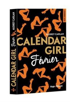 Livres Couvertures de Calendar Girl - Février