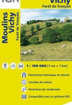 Livres Couvertures de Top100141 Moulins/Vichy 1/100.000