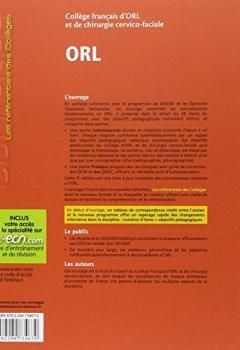 Livres Couvertures de ORL: Réussir les ECNi