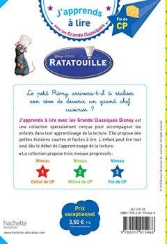 Livres Couvertures de Ratatouille CP Niveau 3