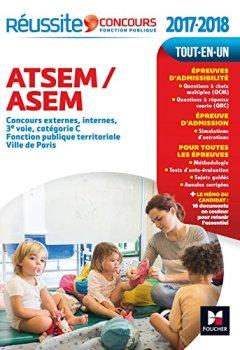 Livres Couvertures de Réussite Concours ATSEM/ASEM Concours externe, interne et 3e voie Concours 2017-2018 Nº29