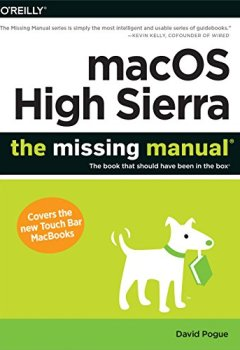 Livres Couvertures de MacOS High Sierra: The Missing Manual