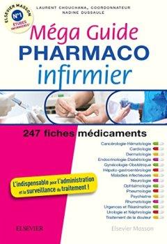 Livres Couvertures de Méga Guide PHARMACO Infirmier