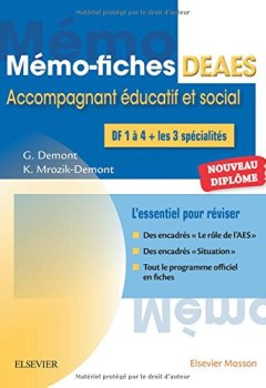 Livres Couvertures de Mémo-fiches DEAES - Diplôme d'Etat d'Accompagnant Educatif et Social: L'essentiel pour réviser