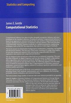 Livres Couvertures de Computational Statistics