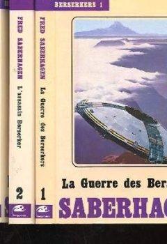 Livres Couvertures de Berserkers en 4 volume complets.