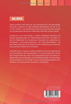 Buchdeckel von Sport in der gymnasialen Oberstufe: Schulbuch (Edition Schulsport, Band 33)