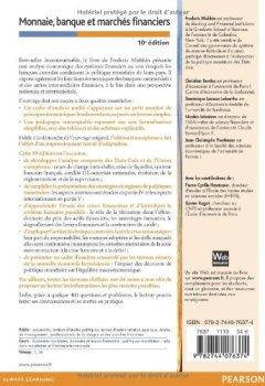 Livres Couvertures de Monnaie, banque et marchés financiers 10e édition