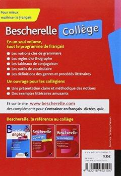 Livres Couvertures de Bescherelle collège: tout-en-un sur la langue française pour les collégiens