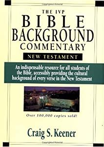 "Cover of ""The IVP Bible Background Commen..."