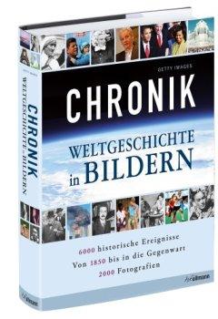 Buchdeckel von Chronik: Weltgeschichte in Bildern