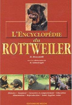 Livres Couvertures de L'Encyclopédie du Rottweiler