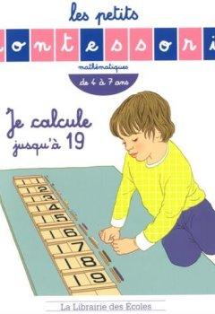 Livres Couvertures de Les Petits Montessori- Je calcule jusqu'a 19